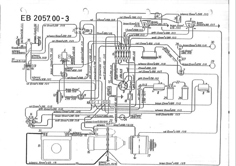 Schaltplan Anlasser Rasentraktor